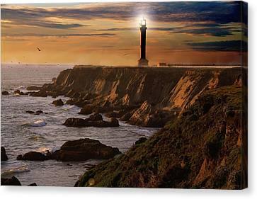 Lighthouse  Canvas Print by Harry Spitz