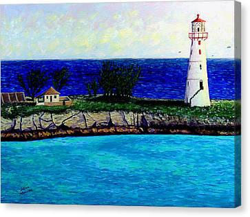 Lighthouse IIi Canvas Print by Stan Hamilton