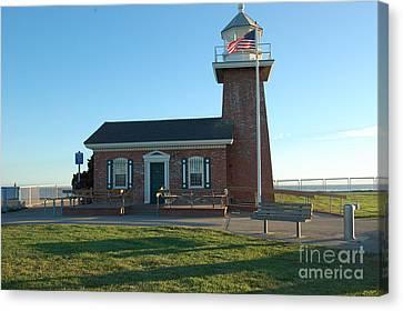 lighthouse in Santa Cruz Canvas Print