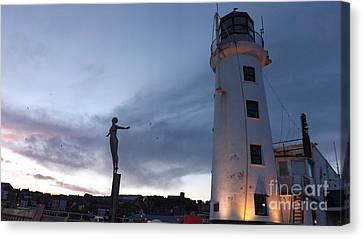 Lighthouse Lady 2 Canvas Print