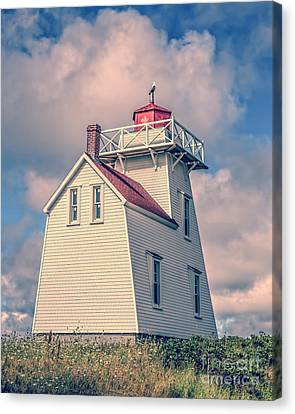 Lighthouse North Rustico Prince Edward Island Canvas Print