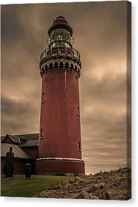 Canvas Print featuring the photograph Lighthouse by Odd Jeppesen