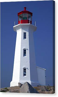 Lighthouse Peggy's Cove Canvas Print