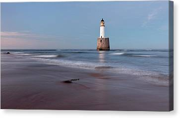 Canvas Print featuring the photograph Lighthouse by Grant Glendinning