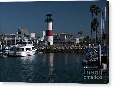 Lighthouse Canvas Print by Rod Wiens