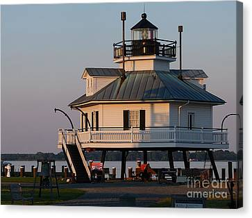 Lighthouse  St.michaels Md Canvas Print
