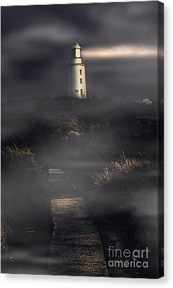 Lighthouse Way Canvas Print