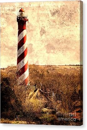 Lighthouse Westerlichttoren Canvas Print