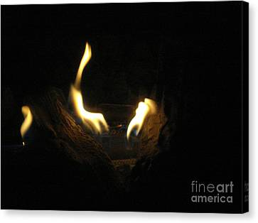 Light In The Darkness Abstract Canvas Print