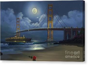 Lighting The Way Home Canvas Print by Al Hogue
