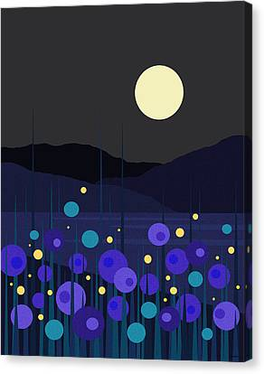 Lightning Bugs Canvas Print