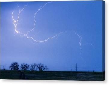 Lightning Crawler Canvas Print