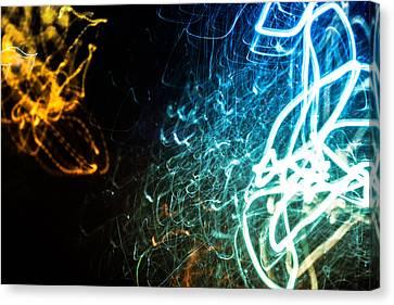 Retina Burn Canvas Print