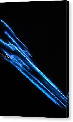 Lightpainting Single Wall Art Print Photograph 16 Canvas Print