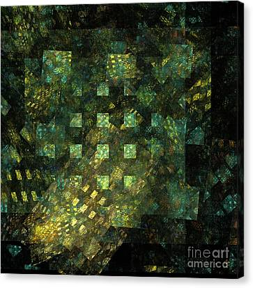 Lights In The City Canvas Print