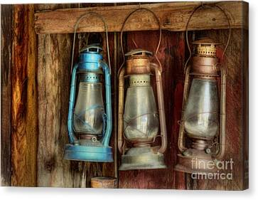 Lights Of Bodie Canvas Print by Benanne Stiens