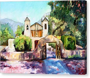 Lights Of Chimayo Canvas Print