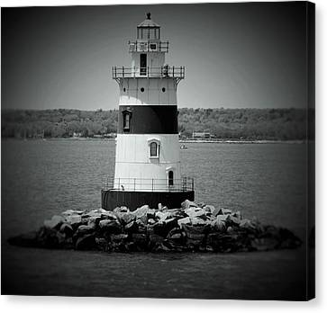 Lights Out-bw Canvas Print
