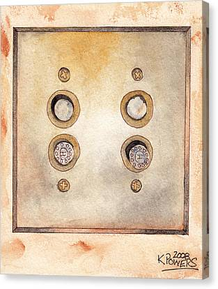 Lightswitch Canvas Print by Ken Powers