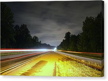 Canvas Print featuring the photograph Lightworks by Alex Grichenko