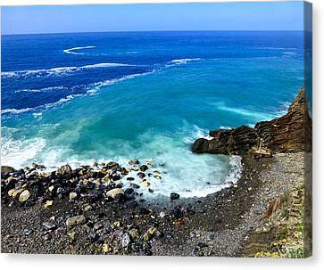 Ligurian Coastline Canvas Print
