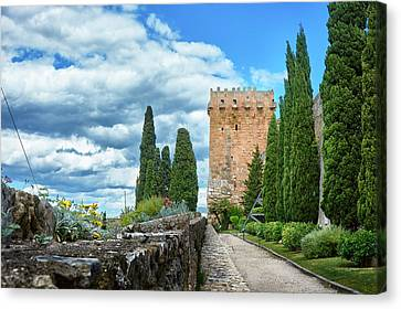 Like A Fortress In The Sky Canvas Print