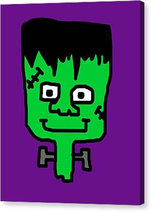 Lil Frankenstein Canvas Print