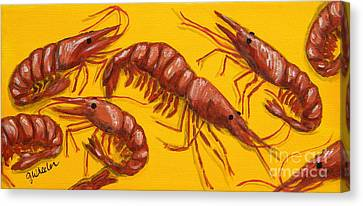 Lil Shrimp Canvas Print
