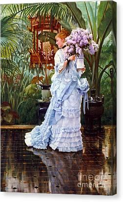 Lilacs 1876 Canvas Print by Padre Art