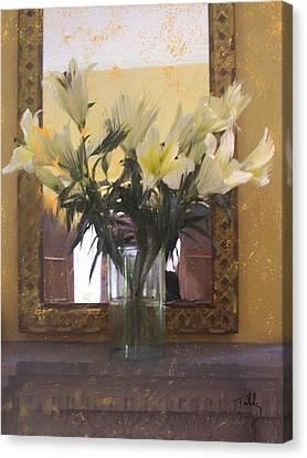 Lilies Canvas Print