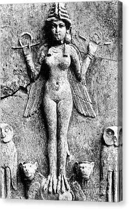 Lilith, C1950 B.c Canvas Print by Granger