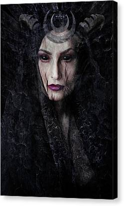 Lilith  Canvas Print by Cambion Art