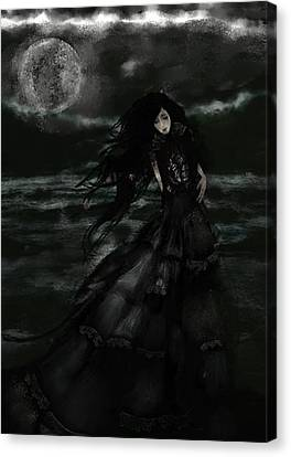 Lilith Moon Canvas Print