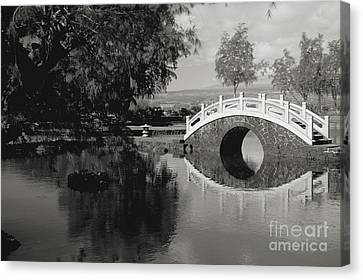 Liliuokalani Gardens Canvas Print by Peter French - Printscapes