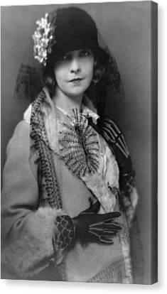 Lillian Gish 1893-1993, Silent Film Canvas Print by Everett