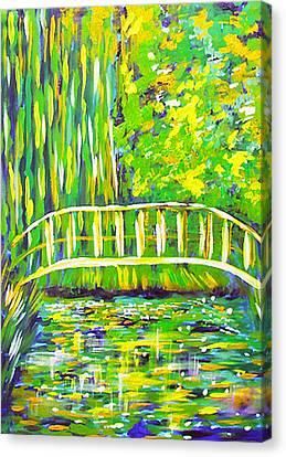 Lillies Canvas Print by Paul SANDILANDS