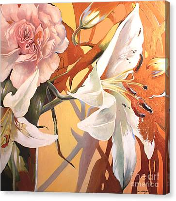 Lilly Melange Canvas Print