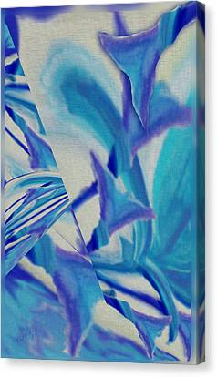 Lily Abstract #1 Canvas Print