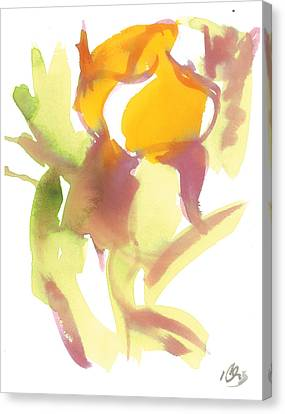 Lily Canvas Print by Carl Griffasi