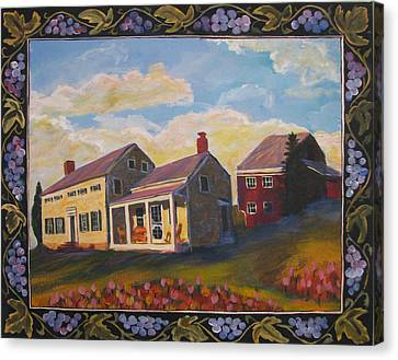 Lily Hill Canvas Print