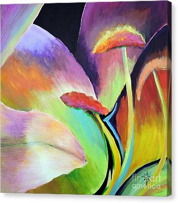 Lily Too Canvas Print by Jodie Marie Anne Richardson Traugott          aka jm-ART