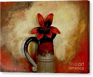 Lily Lovely Canvas Print