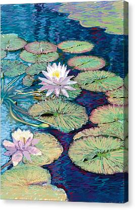 Lily Pads Canvas Print by Valer Ian