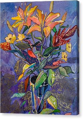 Lilyscape Canvas Print by Marty Husted