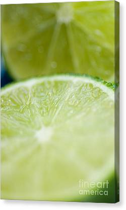 Lime Cut Canvas Print by Ray Laskowitz - Printscapes