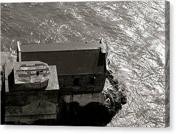 Lime Point Lighthouse Canvas Print by Sonja Anderson