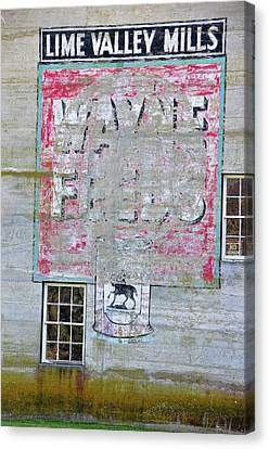 Lime Valley Mills Canvas Print by David Arment