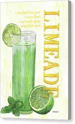 Limeade Canvas Print by Debbie DeWitt