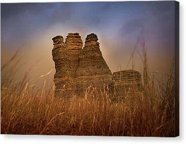 Limestone Dust Canvas Print