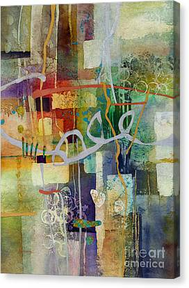 Silver Turquoise Canvas Print - Liminal Spaces by Hailey E Herrera